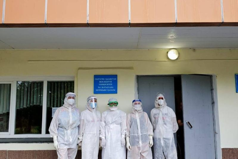 One of the provisional hospitals closed down in Petropavlovsk