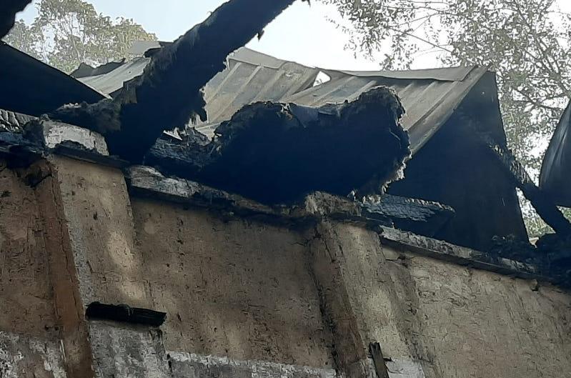 Пожар на территории кардиоцентра в Алматы: взорвался кислородный наполнительный пункт