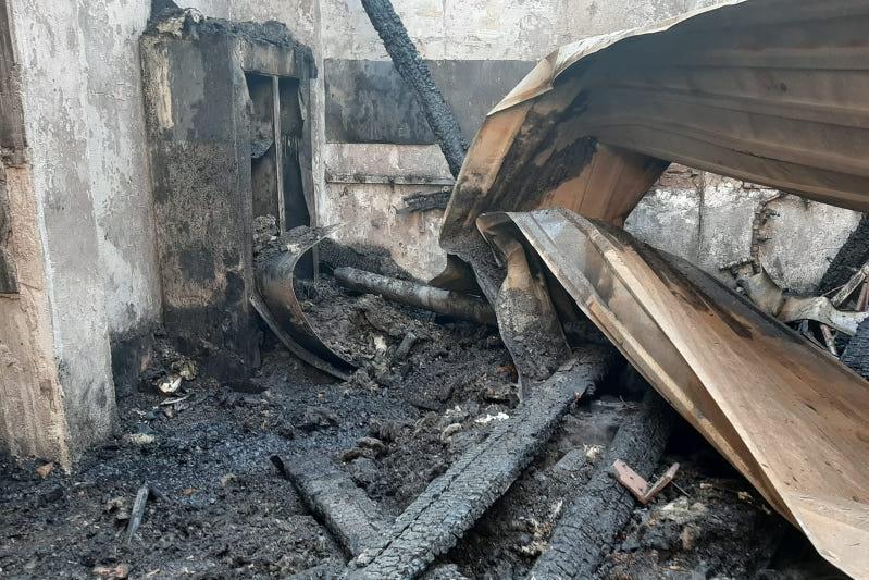 Пожар на территории кардиоцентра в Алматы: обнаружен труп