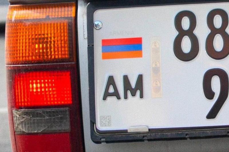 Павлодар облысында Армениядан әкелінген 77 көлік тіркеуге алынбайды