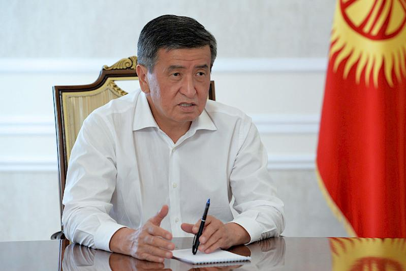 President: Kyrgyzstan to increase export of ecologically clean agricultural products