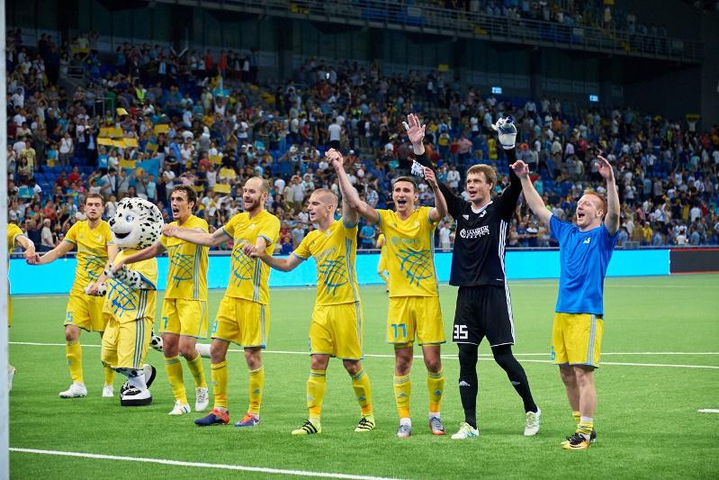 欧冠第一轮资格赛:阿斯塔纳队客场对阵白俄罗斯迪纳摩