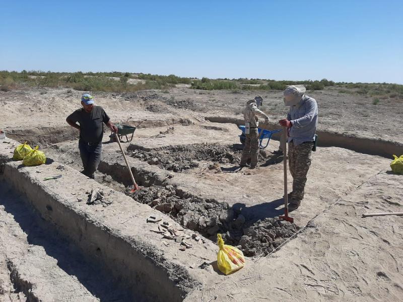 Асанас қалашығында кешенді археологиялық қазба жұмыстары басталды