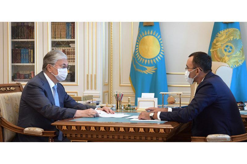 Қозоғистон Президенти Сенат раисини қабул қилди