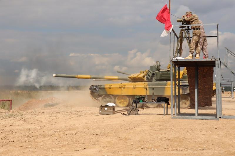 Máskeýdegi Armııa halyqaralyq oıyndary: Qazaqstan tankishileri daıyndyqtaryn pysyqtady