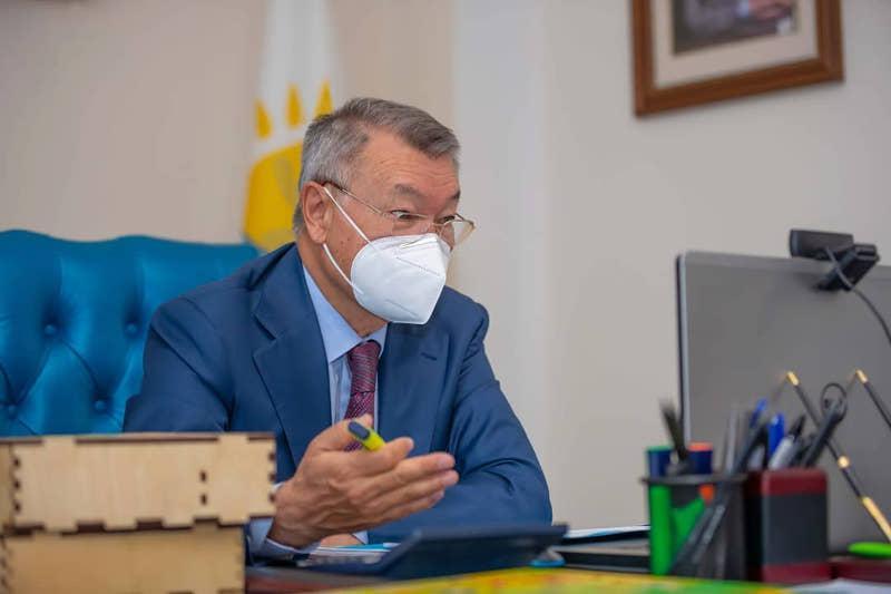 Участникиликвидации аварии на Чернобыльской АЭС-восточноказахстанцы отдохнут на озере Алаколь