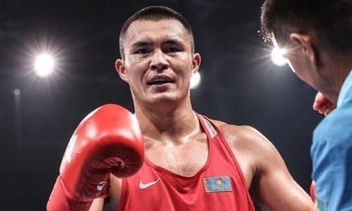 Қамшыбек Қоңқабаев кәсіпқой бокстағы алғашқы жеңісіне қол жеткізді