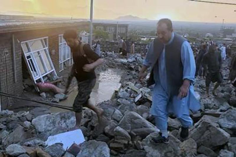 阿富汗东部洪水致死人数升至70人
