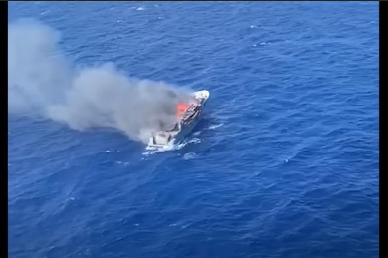 Восемь казахстанских туристов спасены с горящей яхты у берегов Сардинии