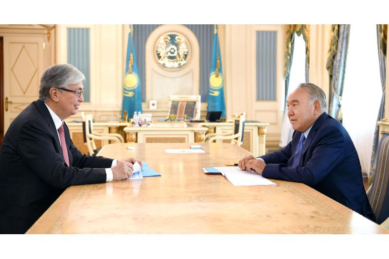 Елбасы и Президент РК обсудили дальнейшее развитие страны в посткризисный период