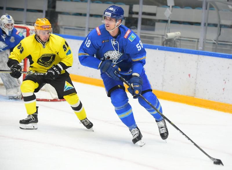 «Барыс» обыграл «Сарыарку» в предсезонном матче