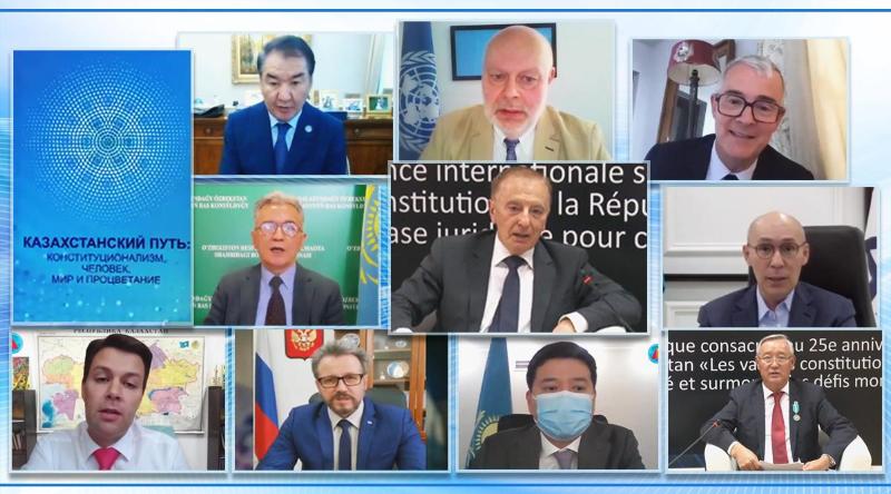 Презентована книга «Казахстанский путь: конституционализм, человек, мир и процветание»