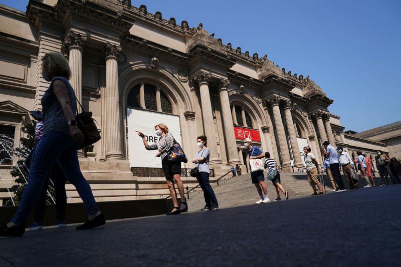 Нью-Йорк музейлері жарты жылдық карантиннен кейін ашылып жатыр