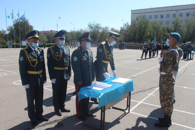 Пополнение Десантно-штурмовых войск РК приняло присягу