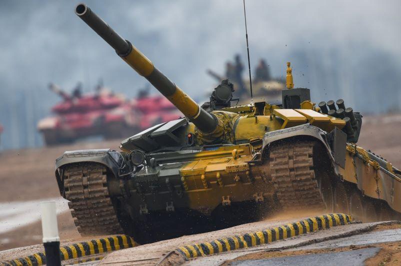 Казахстанские танкисты выступят в полуфинальной эстафете в России