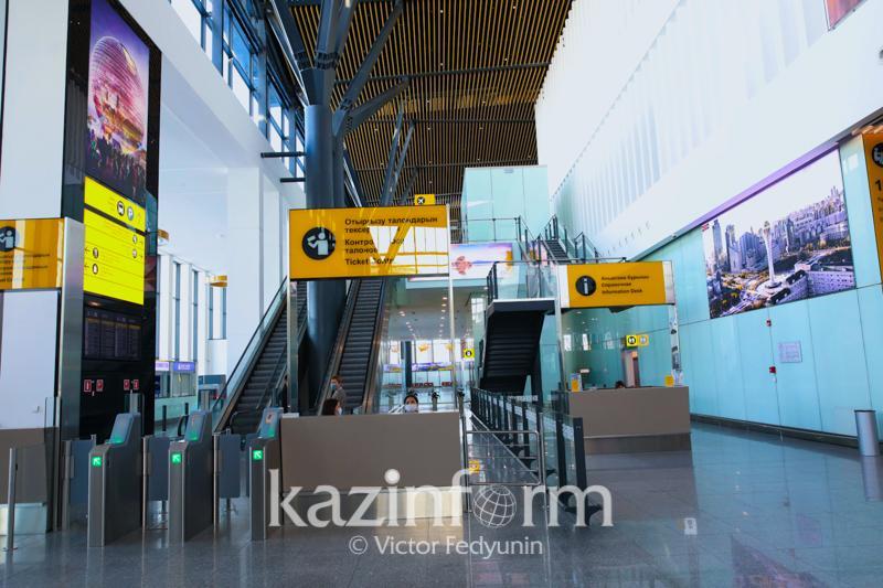 Аэропорты Нур-Султана и Алматы оштрафовали за нарушения карантинных требований
