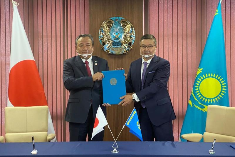Вице-президент «Toyota Tsusho Corporation» назначен Почетным консулом Казахстана