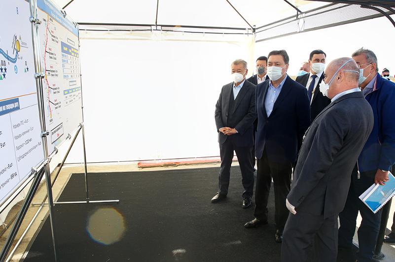 政府总理对东哈州和阿拉木图州进行工作视察