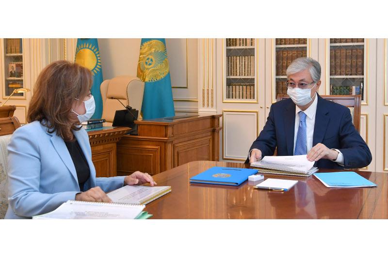 Мемлекет басшысы Мәдина Әбілқасымоваға бірқатар тапсырма берді