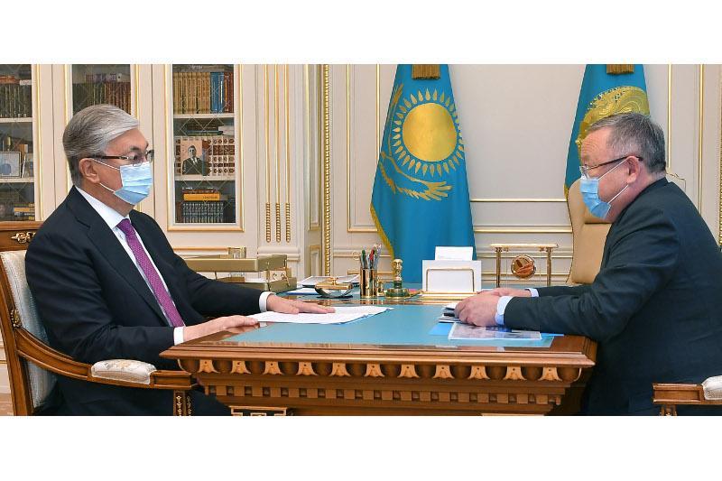 总统接见阿克托别州州长