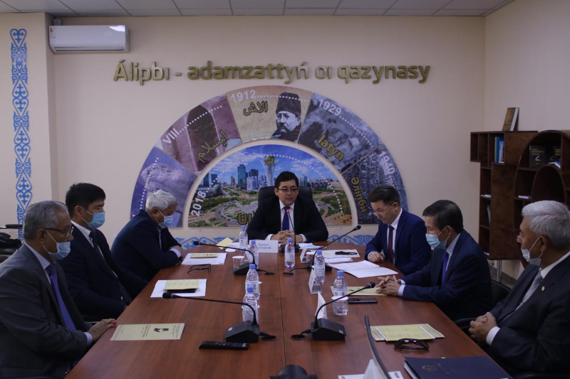 Ahmet Baıtursynulynyń muralaryna arnalǵan jıyn ótti