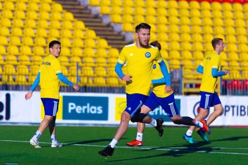 欧国联:哈萨克斯坦国家队今晚客场对阵立陶宛