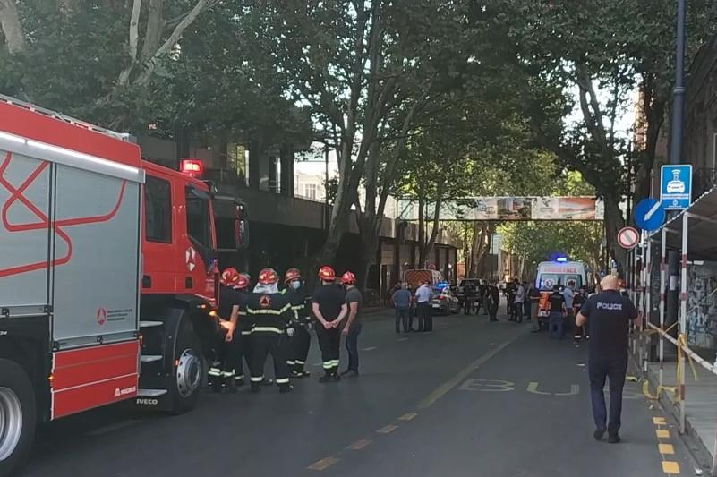 格鲁吉亚首都市中心发生爆炸 已致一人死亡