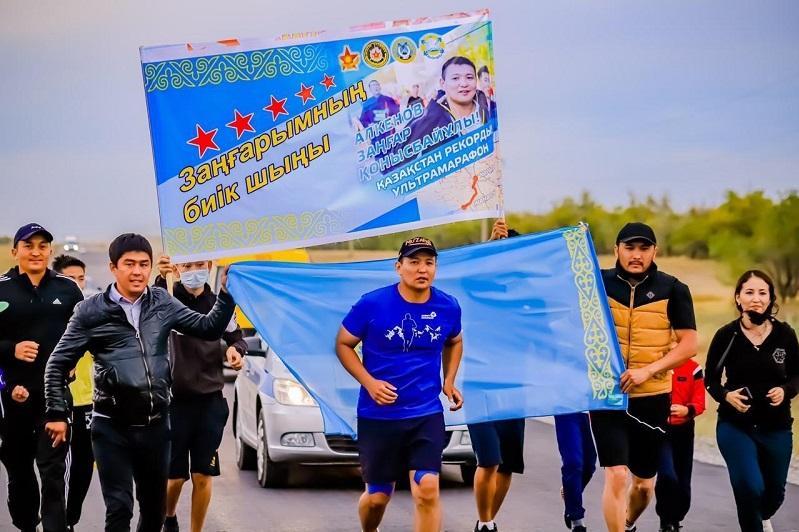 За 35 часов пробежал ультрамарафон в 200 км офицер Вооруженных сил РК