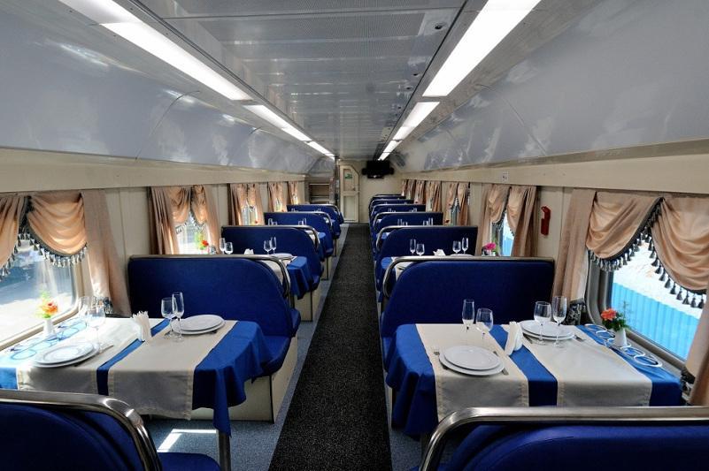 В каких пассажирских поездах заработали вагоны-рестораны