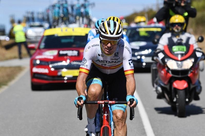 Astana's Sanchez in breakaway in Tour de France Stage 12
