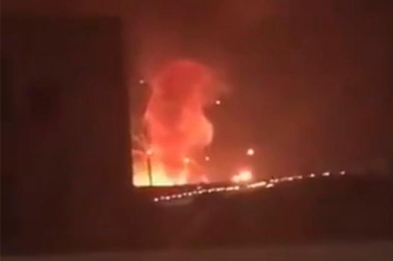 Мощный взрыв прогремел на военном складе в Иордании