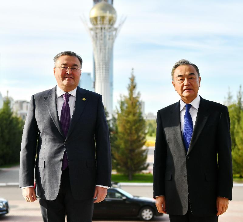 Министры иностранных дел Казахстана и Китая провели переговоры