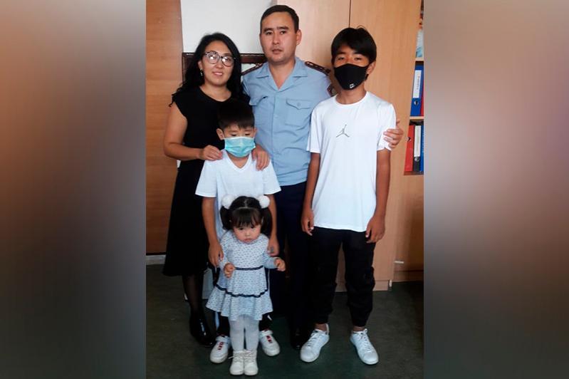 Семья акмолинского полицейского победила в республиканском конкурсе