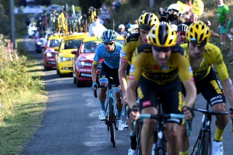 Astana's Lopez 4thin Tour de France Stage 15