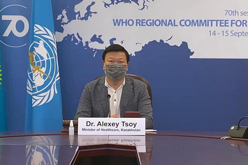 Kazakh health ministry takes part in 70th session of WHO Regional Office for Europe
