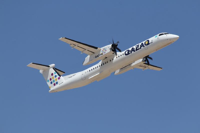 Возвращение самолета в аэропорт прокомментировали в авиакомпании QAZAQ AIR