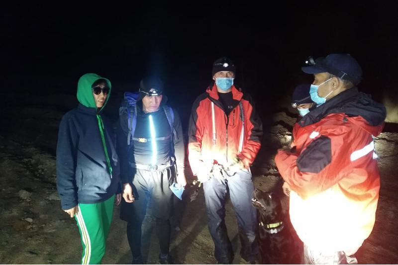 Алматы тауларында ерлі-зайыптылар құтқарылды