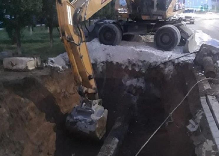 На 5,5 млн тенге оштрафованы столичные организации за повреждение сетей водоснабжения