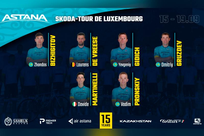 Astana revealed roster for Skoda-Tour de Luxembourg 2020