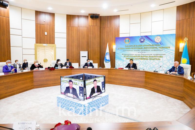 哈萨克斯坦民族和睦大会25周年国际研讨会今日开幕