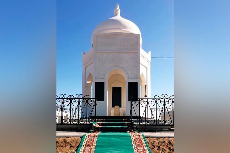 Мавзолей Ерсары батыра построили в ЗКО