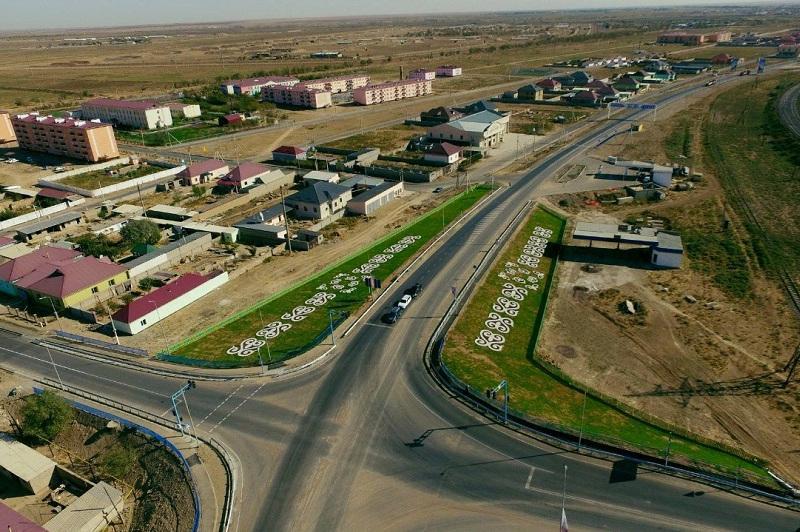 Ауыл - ел бесігі: Арыс қаласында 40-тан аса көше жөнделіп жатыр