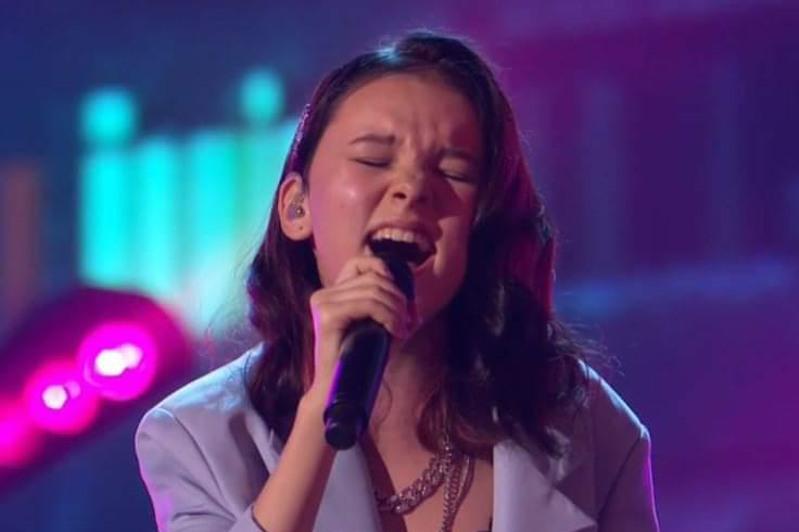 Daneliya Tuleshova performs in America's Got Talent semifinals