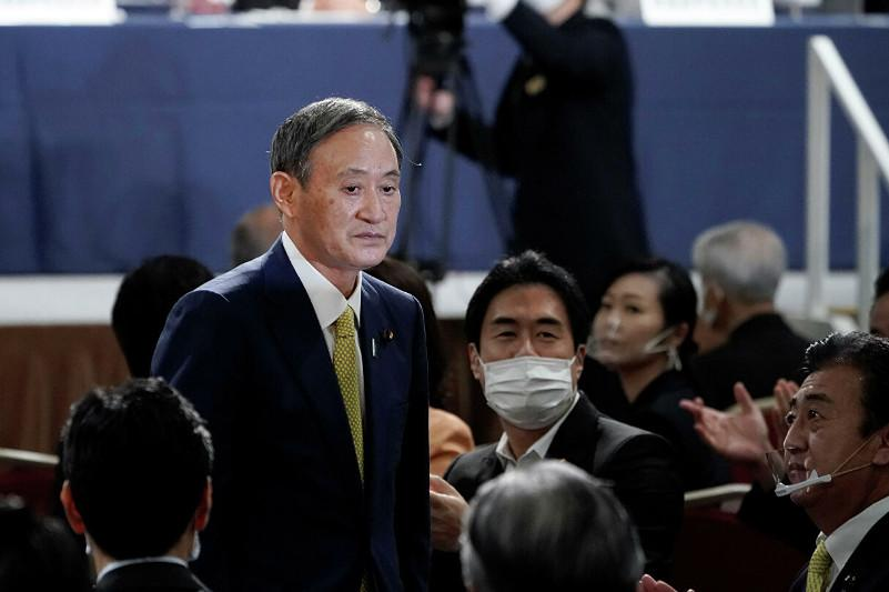 Yoshihide Suga elected Japan PM by lower house amid virus, economic woes
