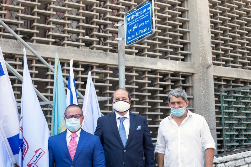 Памятную доску в честь 1150-летия аль-Фараби открыли в Израиле