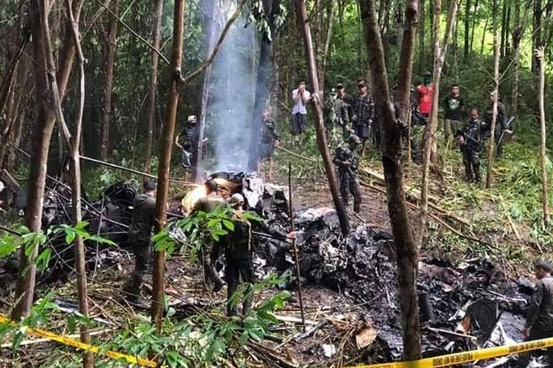Филиппинде әскери тікұшақ апатқа ұшырап, төрт адам мерт болды