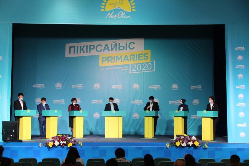 Дебаты среди участников праймериз проходят в Уральске