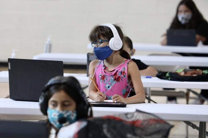 Nearly 550,000 children in U.S. test positive for COVID-19