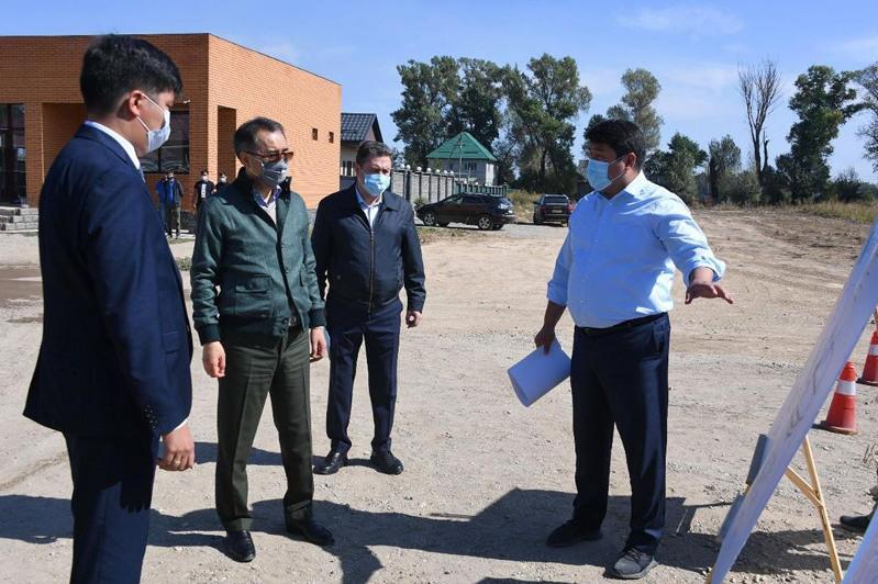 Как развиваются окраины Алматы, рассказал Бакытжан Сагинтаев