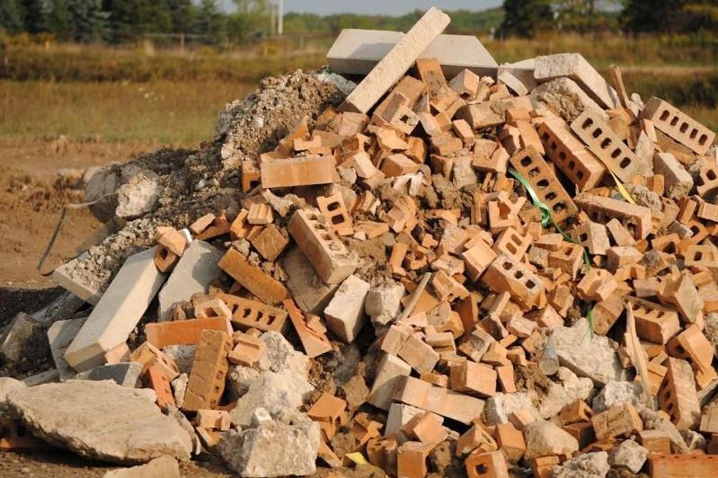 Строительный мусор выгрузил близ озера Талдыколь водитель ГАЗели в столице